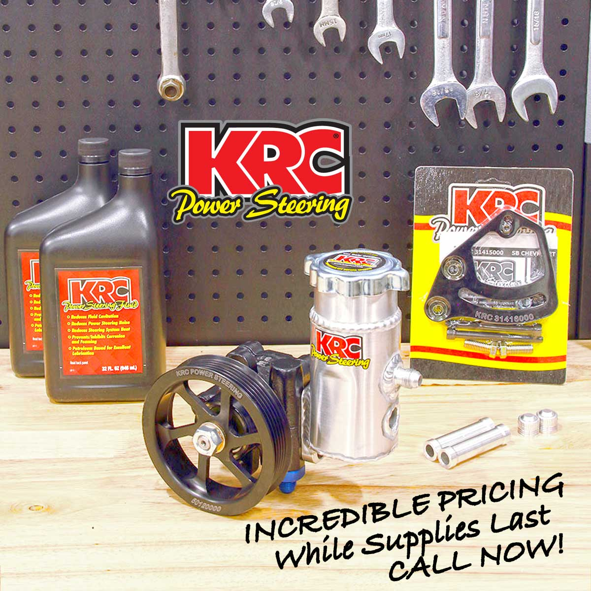 KRC Power Steering Pump Summer Deals!
